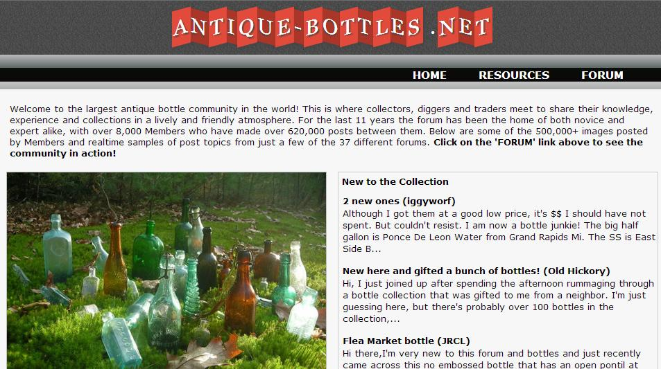 Antique-Bottles