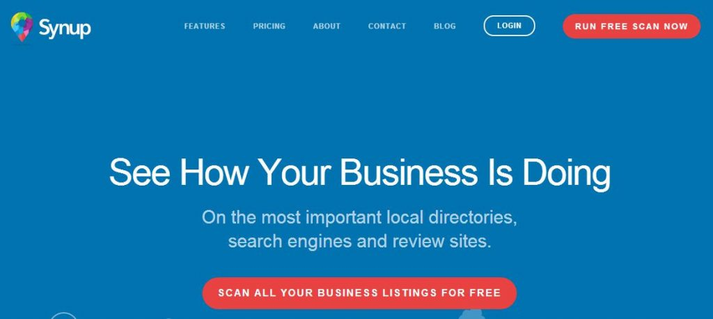 Scan All Your Business Listings For Free With Synup - NEXTbiGPRODUCT