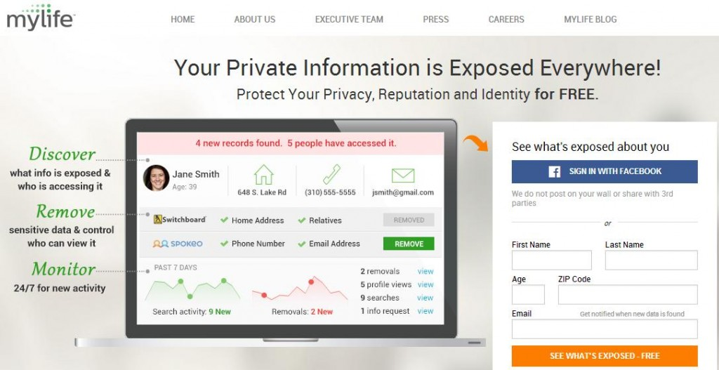 FREE Privacy Protection – re...